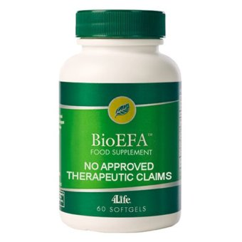 4Life BioEFA with CLA Flaxseed, Safflower, Boragel, Fish Oil Softgels Bottle of 60 Price Philippines