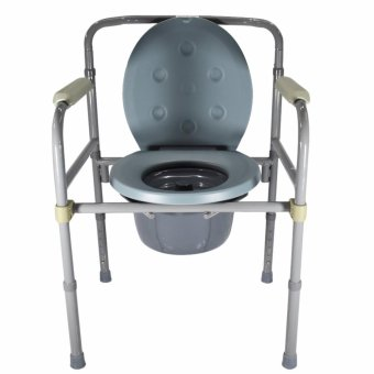 Medical Steel Folding Bedside Commode Toilet Chair Price Philippines