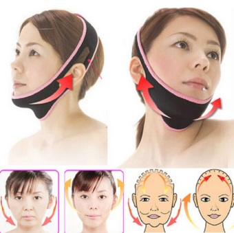 Harga Face Lift Up Belt Sleeping Face-Lift Mask Massage Slimming Face Shaper Relaxation,Facial Slimming Mask Face-Lift Bandage - Intl