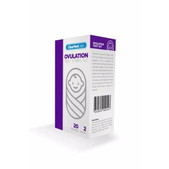ClearMed Labs Pregnancy Predictor Ovulation Test Kit - 2 Months (20 pieces) Price Philippines