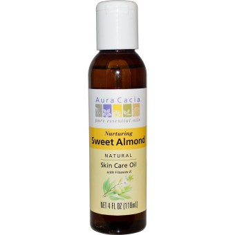 Harga Aura Cacia Sweet Almond Skin Care Oil 4 oz. (118 ml)