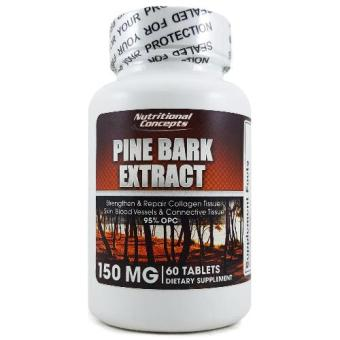 Harga Nutritional Concepts Pine Bark Extract 150 mg, 60 Tablets