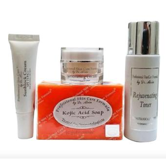 Dr. Alvin Professional Skin Care Formula Rejuvenating Set for All Skin types Price Philippines