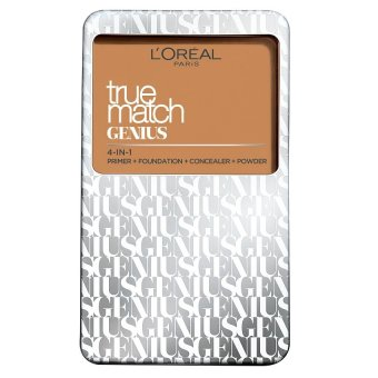 Harga L'Oreal Paris True Match Genius Two Way Cake Compact Foundation 7g (G3 Gold Vanilla)