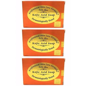 Dr. Alvin PSCF Kojic Acid Soap 135g BUNDLE of 3 Price Philippines