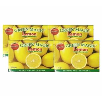Harga AA&LL - Green Magic-Lemon Organic Beauty Soap - set of 4