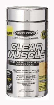 Harga MuscleTech Clear Muscle, Advanced Muscle and Strength Building Formula, 168 Liquid Capsules