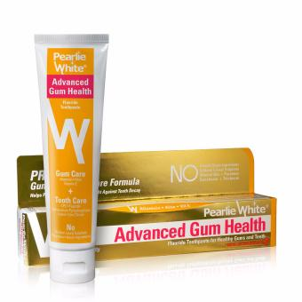 Harga Pearlie White Advanced Gum Health Toothpaste 130gm