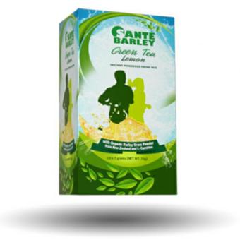 Harga Sante Barley Green Tea with L-Carnitine (7gms/10 Sachets)