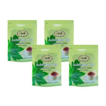 Adelle Ashitaba Tea with Chalcone in Ziplock 2g 10's Teabags Pack of 4 Price Philippines