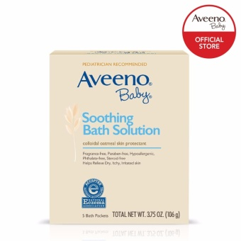 AVEENO BABY Soothing Bath Solution 106g Price Philippines