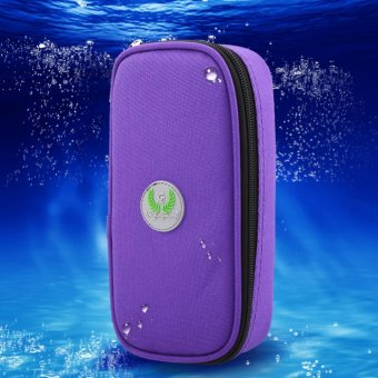 Medical Care Insulin Supply Cooler Traveling Case (Purple) - intl Price Philippines