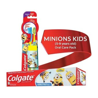 Colgate Minions Kids (5-9 years old) Oral Care Pack Price Philippines