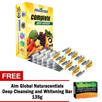 Aim Global Complete Phyto Energizer 30 Capsules with Free Aim Global Naturacentials Deep Cleansing and Whitening Bar Price Philippines