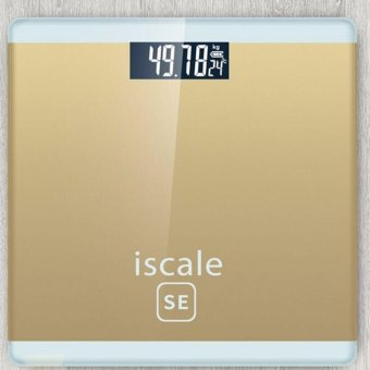 Harga Iscale SE Digital Scale High Accuracy Weight Scale (Gold)