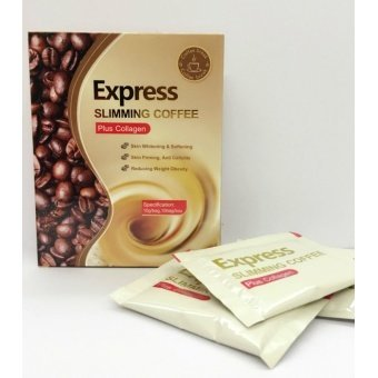Harga Express Slimming Coffee Plus Collagen 10's
