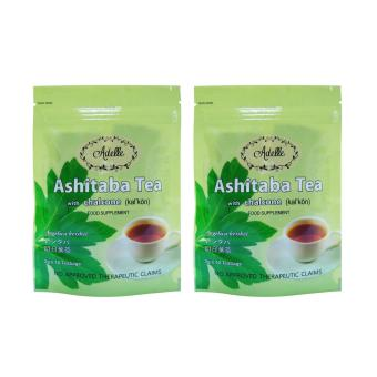 Adelle Ashitaba Tea with Chalcone in Ziplock 2g 10's Teabags Pack of 2 Price Philippines