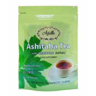 Adelle Ashitaba Tea with Chalcone in Ziplock 2g 10's Teabags Price Philippines