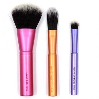 Harga Pop Art Beauty Real Techniques Mini Brush Trio(1416)