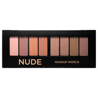 Harga Makeup World Eyeshadow Palette ( Nude )