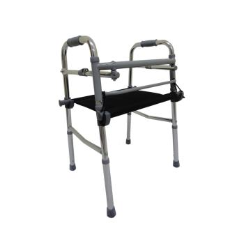 Care&Cure Medical Walker Aid Reciprocal with Removable Seat (Silver) Price Philippines