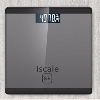 Harga Iscale SE Digital Scale High Accuracy Weight Scale (Black-Gray)