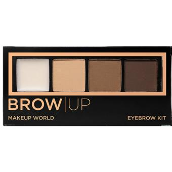 Harga Makeup World Eyebrow Kit ( Medium )