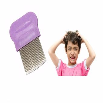 Terminator Lice Nit DANDRUFF Magic Comb Suyod Stainless Steel PURPLE Price Philippines