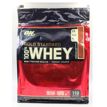 Harga Optimum nutrition gold stand whey 8lb chocolate