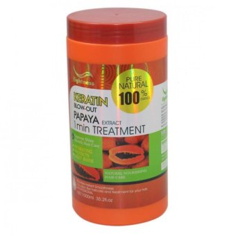 Lightness Keratin Hair Blow-Out Papaya Extract Treatment 100% extract 1000 ml Price Philippines