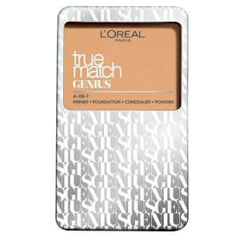 Harga L'Oreal Paris True Match Genius Two Way Cake Compact Foundation 7g (N1 Nude Ivory)