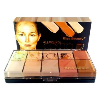 Harga Kiss Beauty All Around Contour Made to Stay Highlighter 10 Palette #1