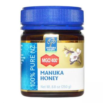 Harga Manuka Health MGO 400+ Manuka Honey 100% Pure New Zealand Honey 250g