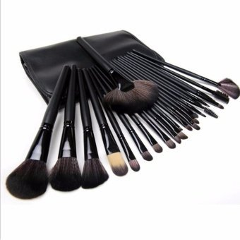 Harga 24Pcs Professional Makeup Brush Set ( Black )