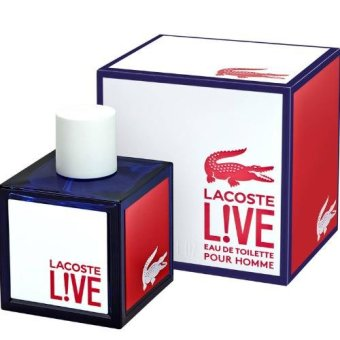 LACOSTE Live! Eau de Toilette Spray 100 ml/ 3.3 fl oz Price Philippines