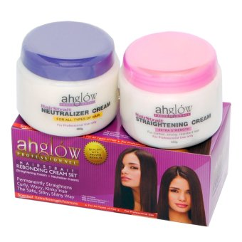 Ahglow Hair Rebonding Set 2in1 300gx2 Price Philippines