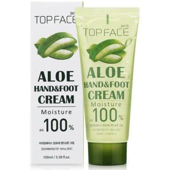 Harga Top Face Aloe Hand & Foot Gel Cream 100ml