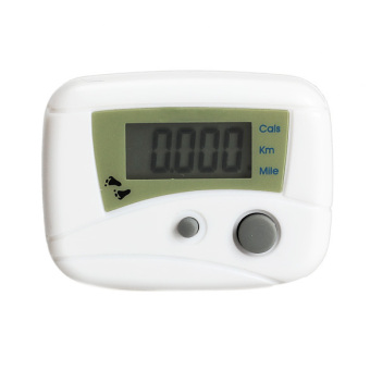 Harga LCD Run Step Pedometer White