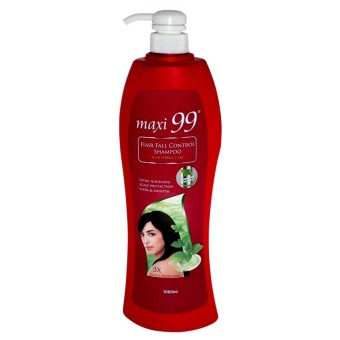 Harga Maxi 99 Hair Fall Control Shampoo w/ Herbal Care 1000ml