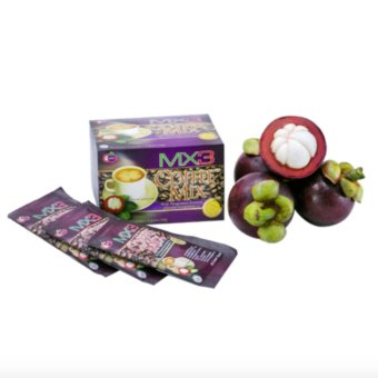 Harga MX3 4in1 Coffee Mix w/ Mangosteen Fruit Pulp
