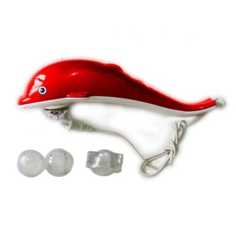 Harga Super Infrared Dolphin King Massager (Red)