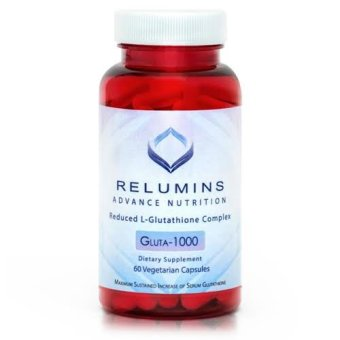 Harga New Relumins Advance Nutrition Gluta 1000 - Reduced L-glutathione Complex