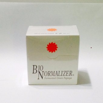 Bio Normalizer Fermented Green Papaya Powder Sachet Box of 30 Price Philippines