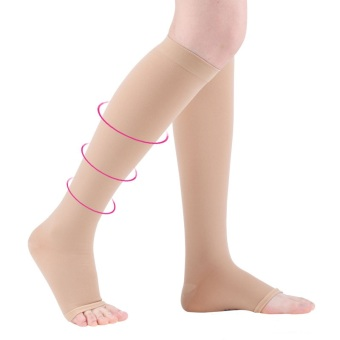 Cofoe Medical Open Toe Knee High Compression Stocking (XXL) Price Philippines