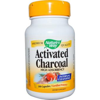 Harga Nature's Way Activated Charcoal Capsules