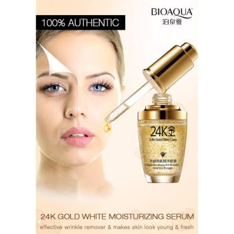 BIOAQUA 24K Gold Skin Care Whitening Moisturizing Anti-Wrinkle Skin Treatment Serum Cream 30ML Price Philippines
