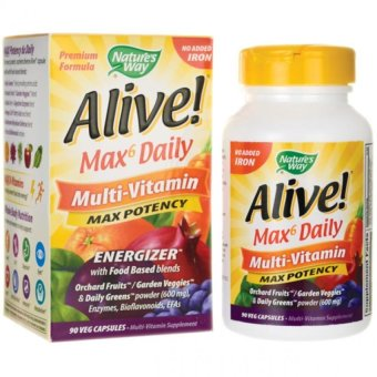 Nature's Way Alive Max6 Daily Multi-Vitamins Price Philippines