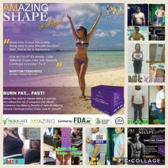 Harga Amazing Slimming Grape Juice w/ Garcinia Cambogia 15g x 10 sachet