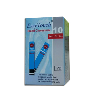 Harga EasyTouch GCU Blood Cholesterol Strips 10's
