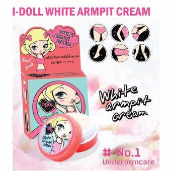 Harga I-Doll White Armpit Cream Underarms Bikini Whitening Lightening Pink Nipples 5gm